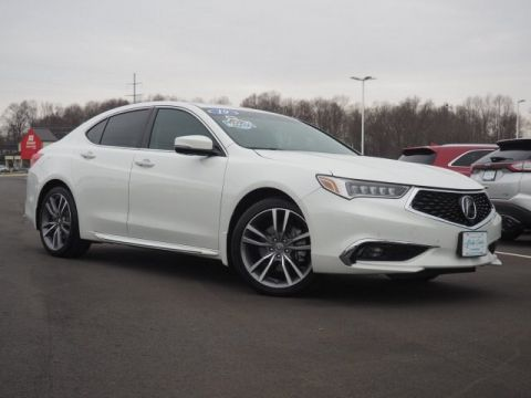 Pre-Owned 2019 Acura TLX 3.5L Advance Pkg With Navigation & AWD