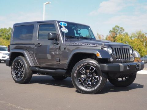 Pre-Owned 2017 Jeep Wrangler Smokey Mt. Edition