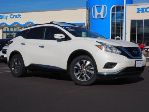 Pre-Owned 2016 Nissan Murano SV With Navigation & AWD
